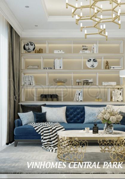 Thiết kế căn hộ Vinhomes Central Park Tân Cảng - quận Bình Thạnh