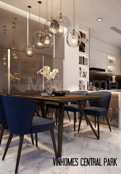 Thiết kế căn hộ Vinhomes Central Park hiện đại - Mr.Sơn