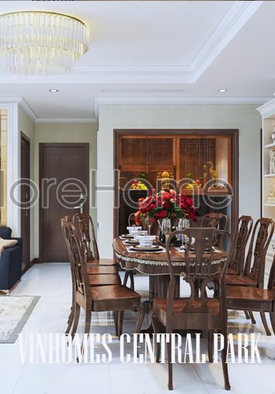 Thiết kế nội thất căn hộ chung cư Vinhomes Tân Cảng - Mr.Tich