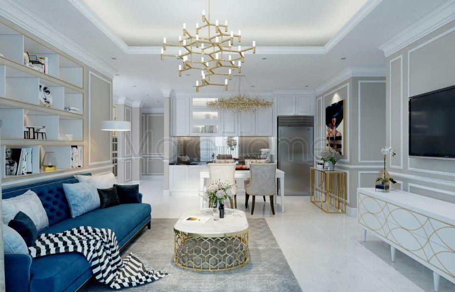 Thiết kế nội thất chung cư Vinhomes Central Park Tân Càng