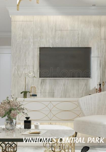 Thiết kế nội thất căn hộ chung cư Vinhomes Central Park - Chị Thúy