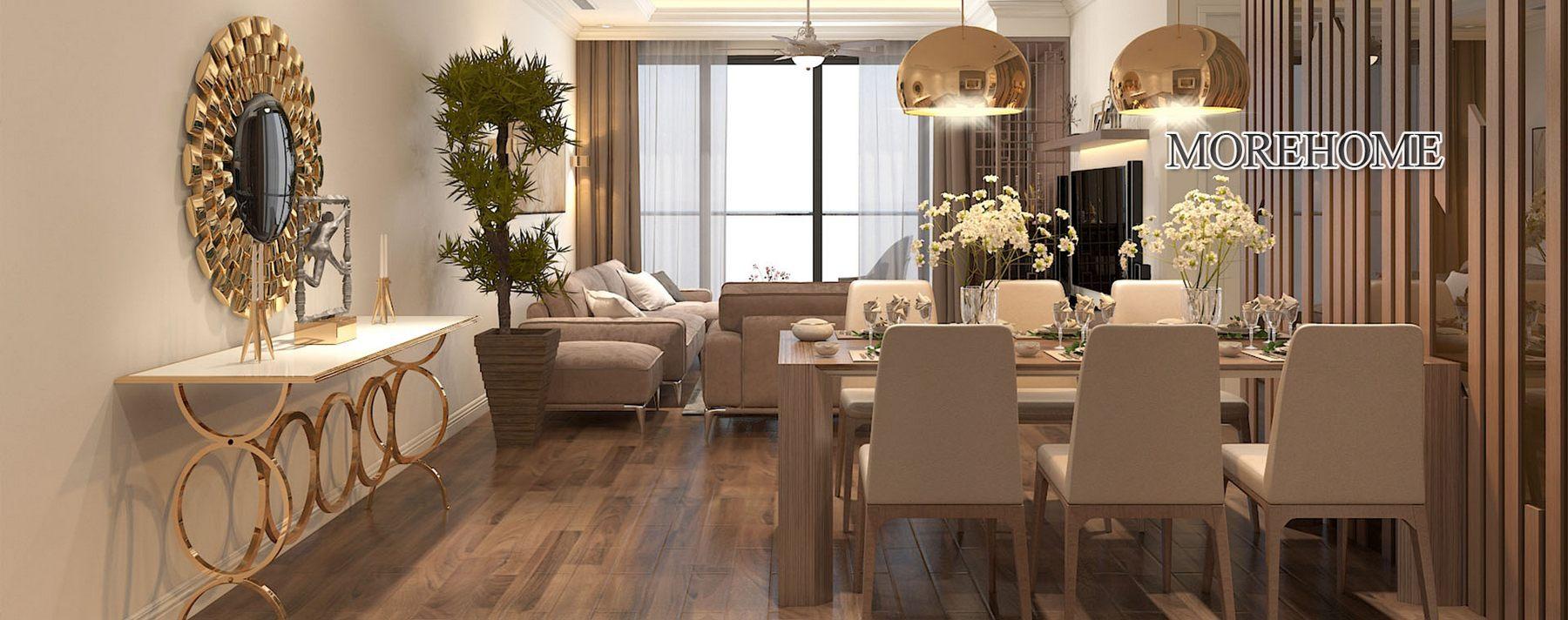 Thiết kế nội thất chung cư Ngoại Giao Đoàn Bắc Từ Liêm Hà Nội