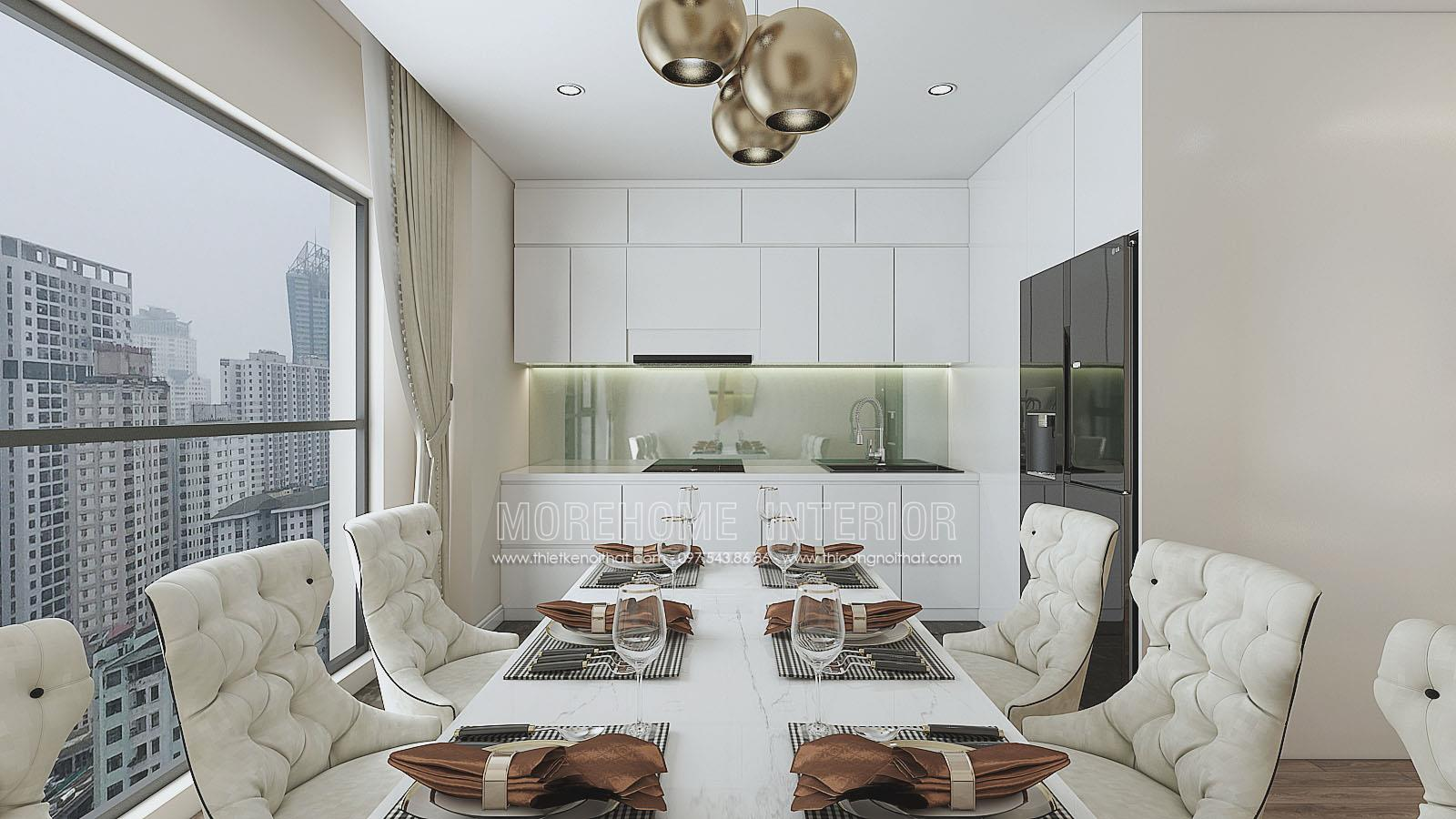 Thiết kế nội thất chung cư flc cầu giấy