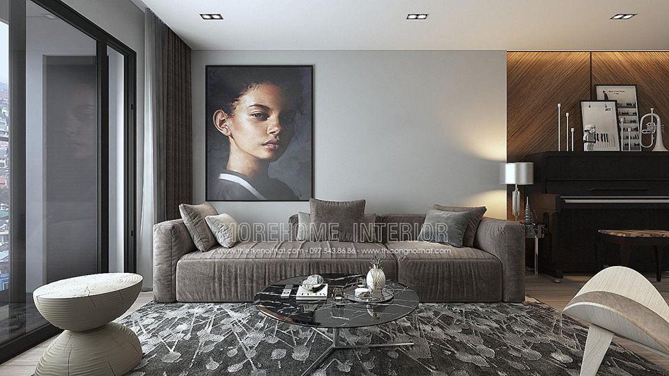 Thiết kế nội thất chung cư Goldseason Apartment
