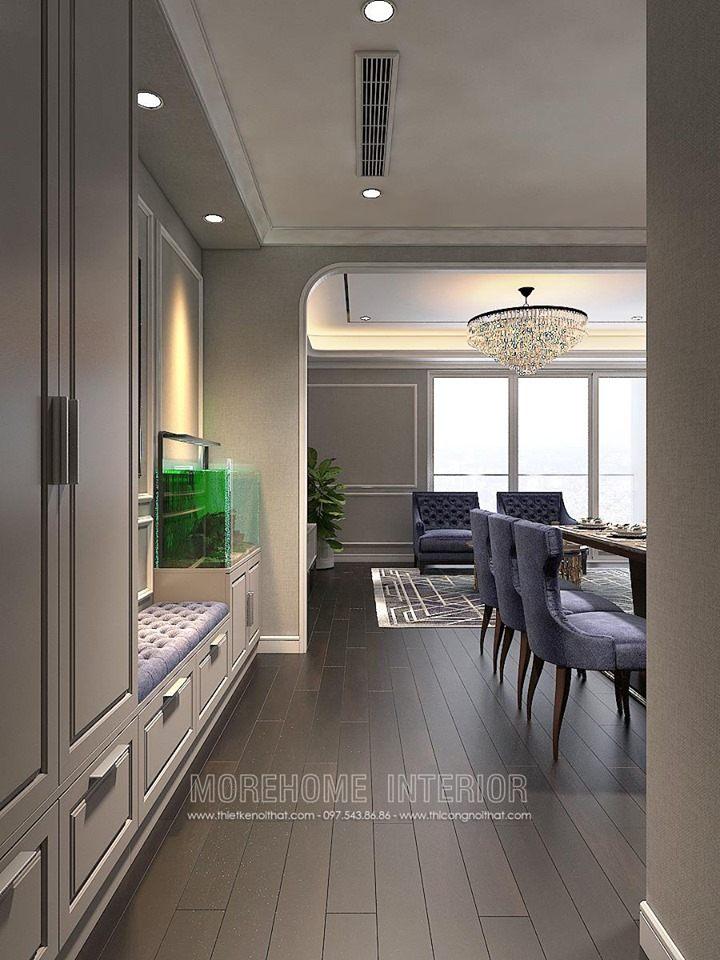 Thiết kế nội thất chung cư hong kong tower 243a đê la thành