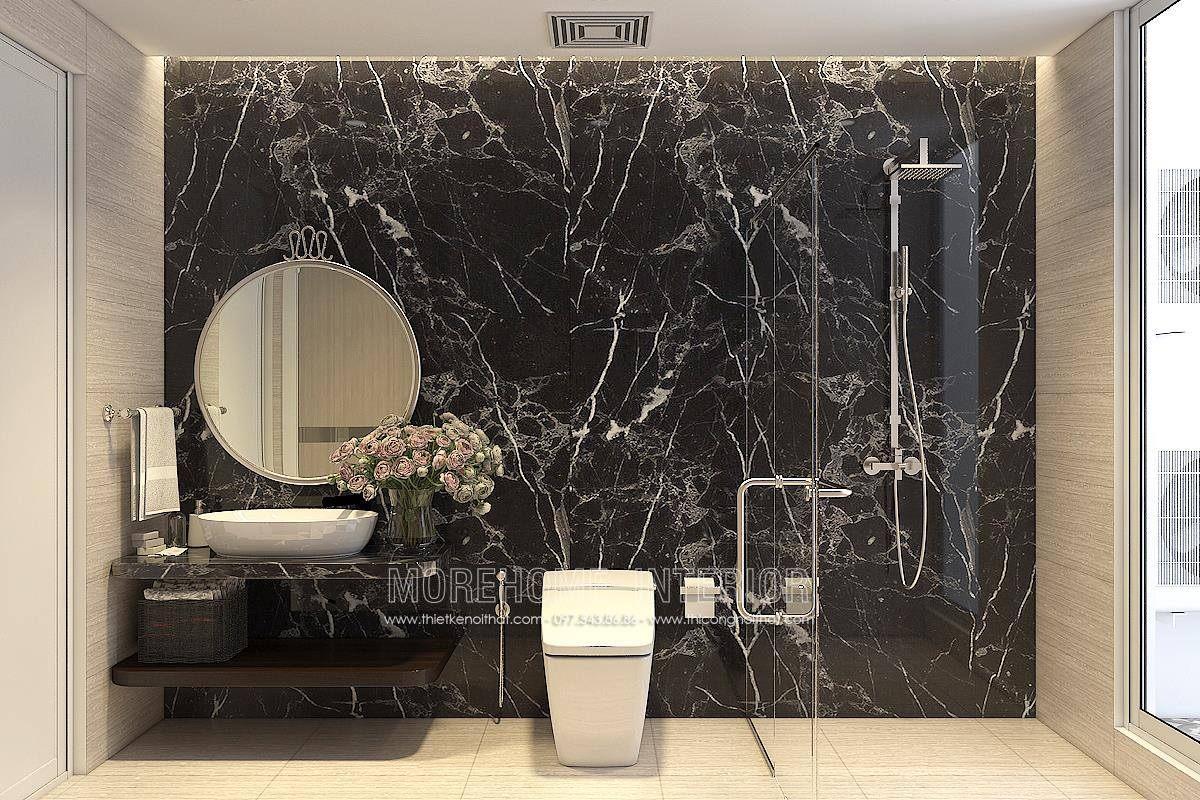 Thiết kế phòng tắm nhà vệ sinh chung cư hongkong tower
