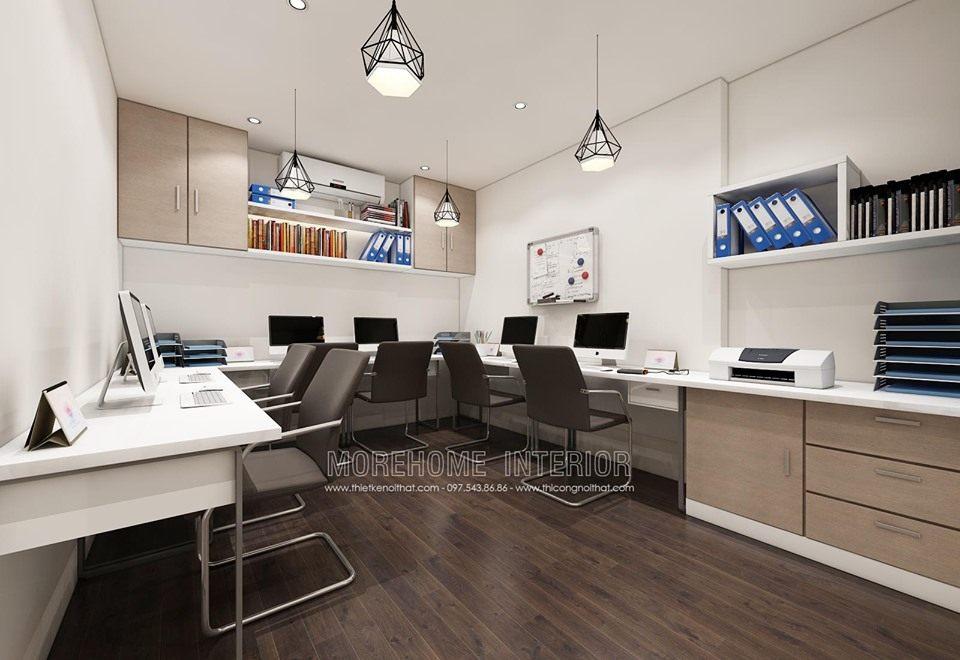 Thiết kế nhà ở kết hợp văn phòng làm việc
