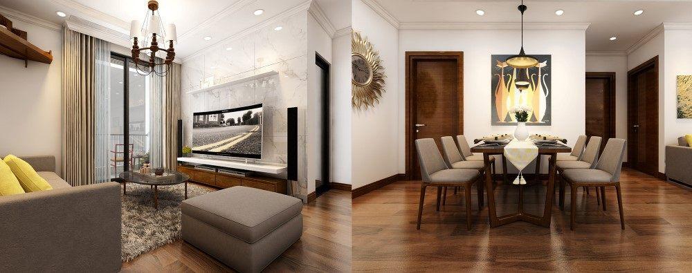 Mẫu thiết kế nội thất căn hộ Park Hill Premium -chị Huyền