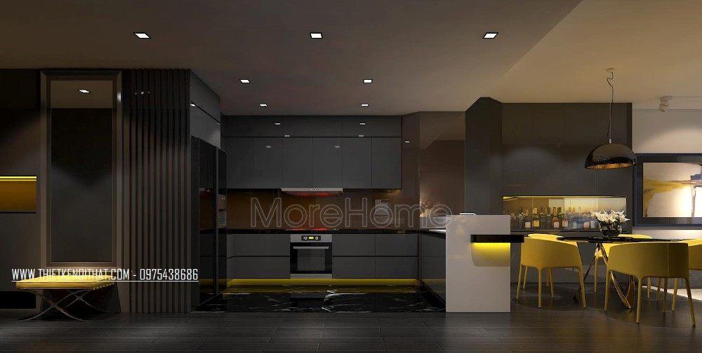Thiết kế nội thất chung cư Royal City hiện đại