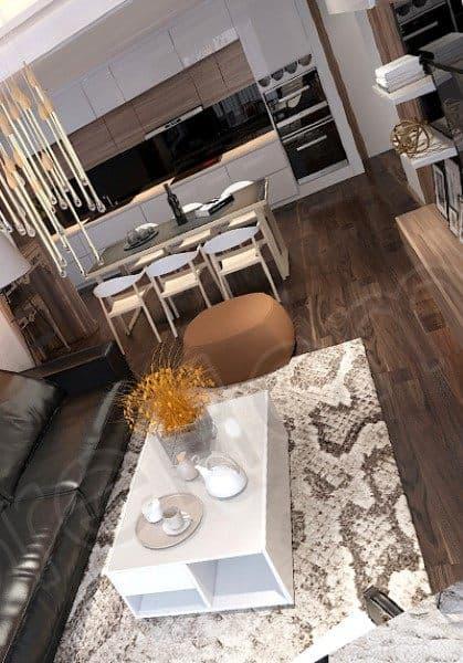 Thiết kế nội thất căn hộ chung cư SunSquare hiện đại - Mr Thanh