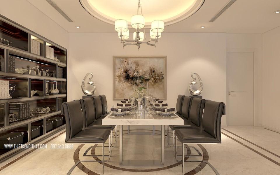 Thiết kế nội thất chung cư Thăng Long Number One Nam Từ Liêm Hà Nội