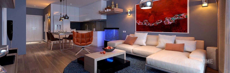 Thiết kế nội thất căn hộ chung cư TimesCity - Anh Dũng