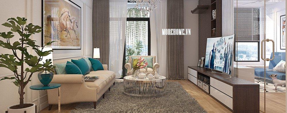 Thiết kế nội thất căn hộ chung cư TimesCity - Anh Tùng