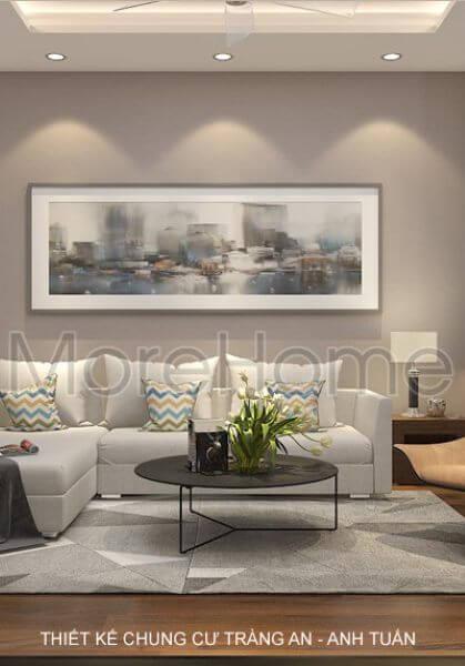 Thiết kế nội thất căn hộ chung cư Tràng An đẹp - Anh Tuấn
