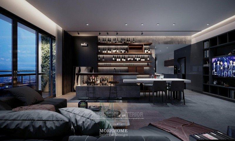 Thiết kế nội thất chung cư vinhomes skylake phạm hùng