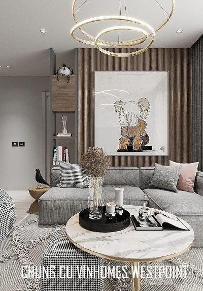 Thiết kế nội thất chung cư Vinhomes Westpoint hiện đại cao cấp