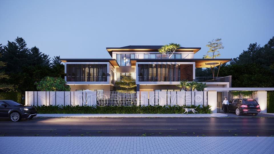 Thiết kế kiến trúc biệt thự hiện đại