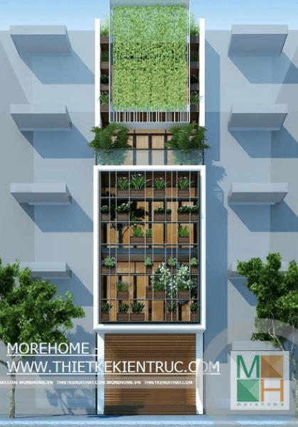 Thiết kế kiến trúc nội thất nhà phố - Mr Thắng - Xuân La