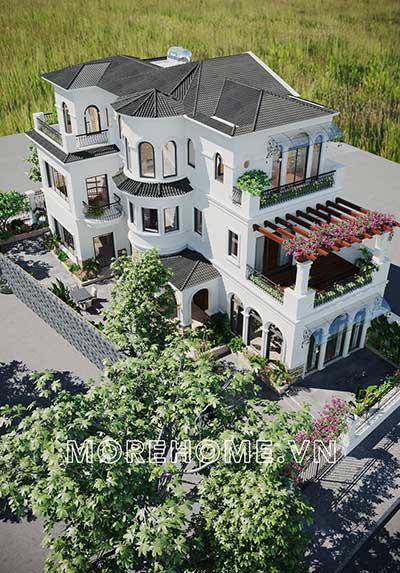 Thiết kế biệt thự Nam An Khánh Sudico với kiến trúc đẹp, sang trọng