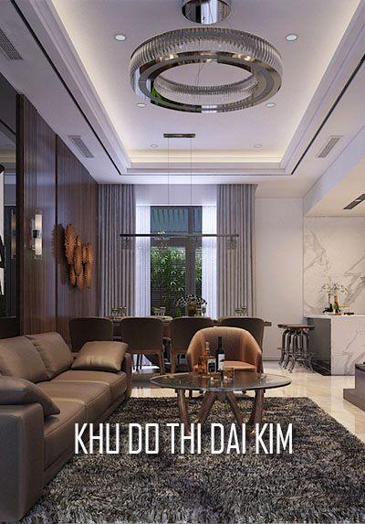 Thiết kế nội thất nhà liền kề khu đô thị Đại Kim- Nhà anh Tuấn
