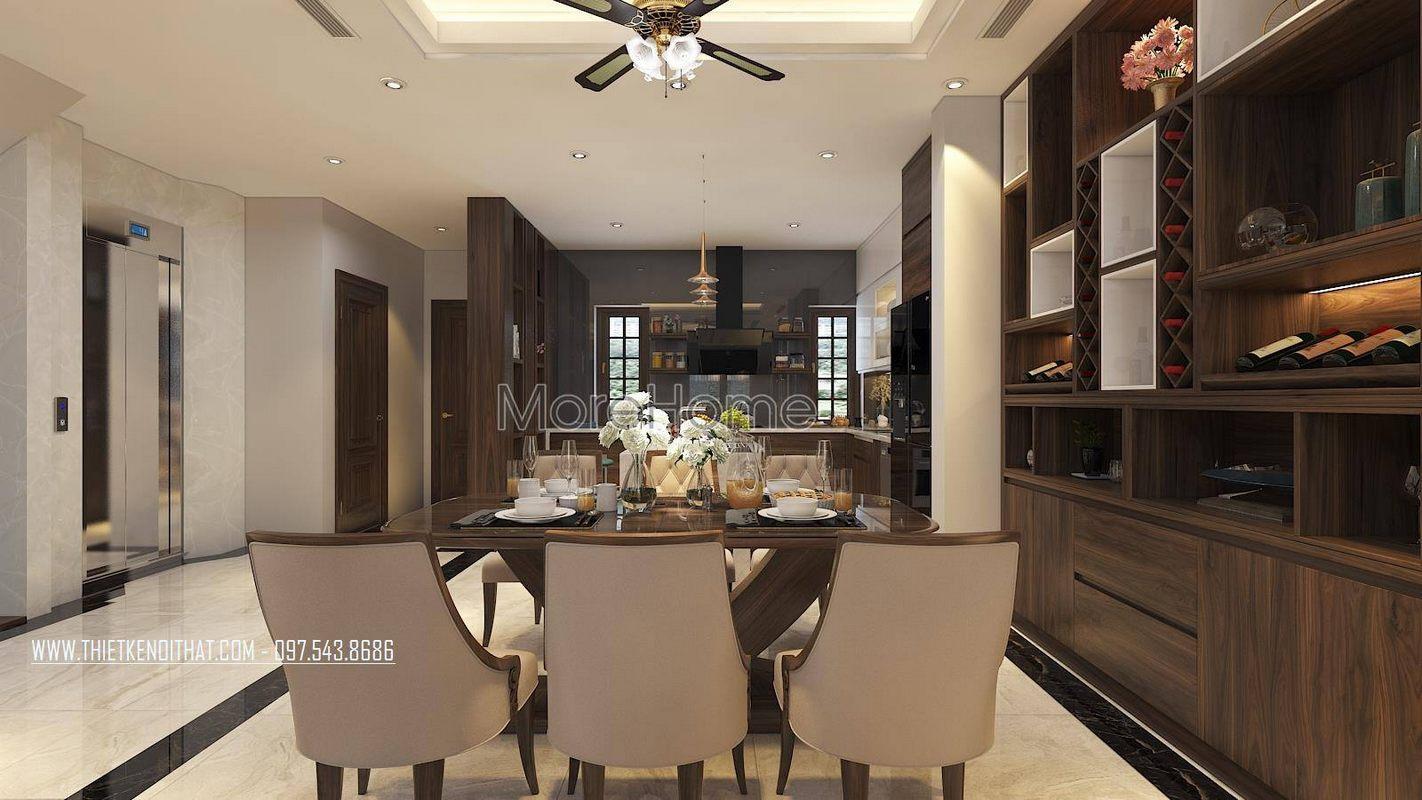 Thiết kế nội thất nhà lô phố đẹp