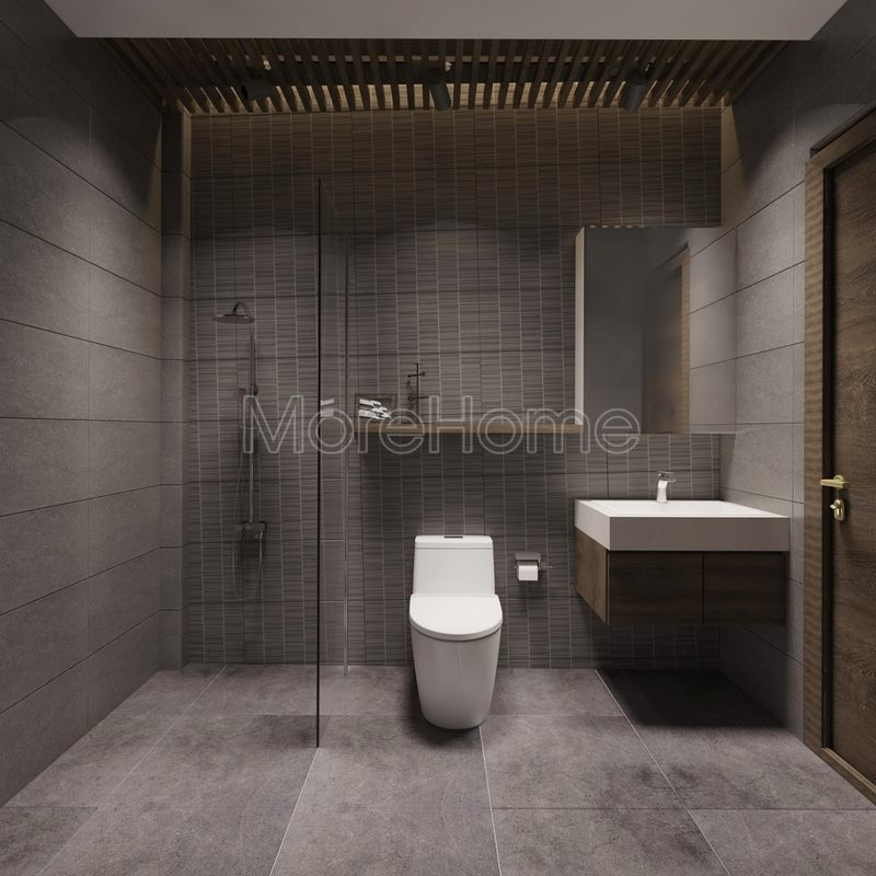 Thiết kế phòng tắm nhà phố hiện đại