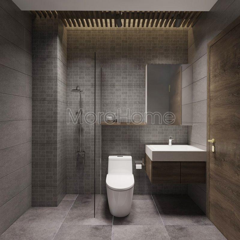 Thiết kế phòng tắm đẹp cho nhà phố hiện đại