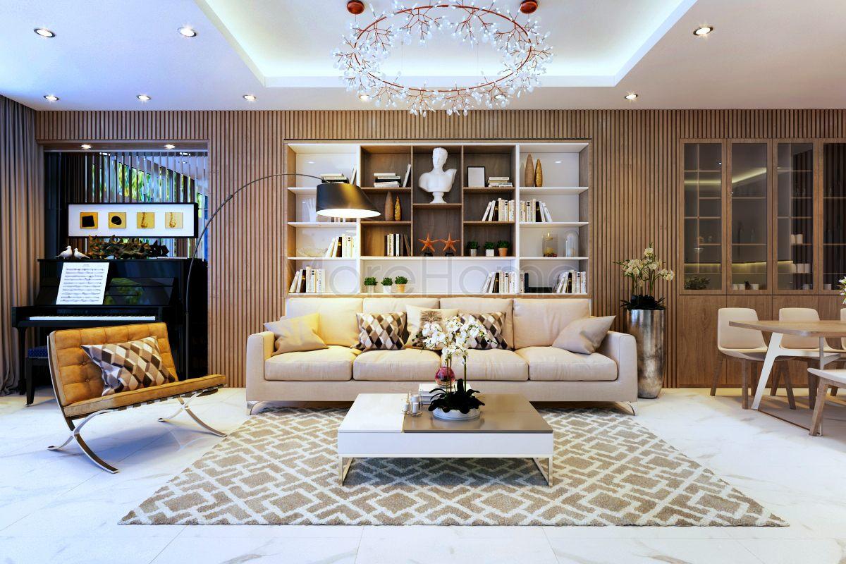 Thiết kế nội thất nhà phố Vạn Phúc Thủ Đức