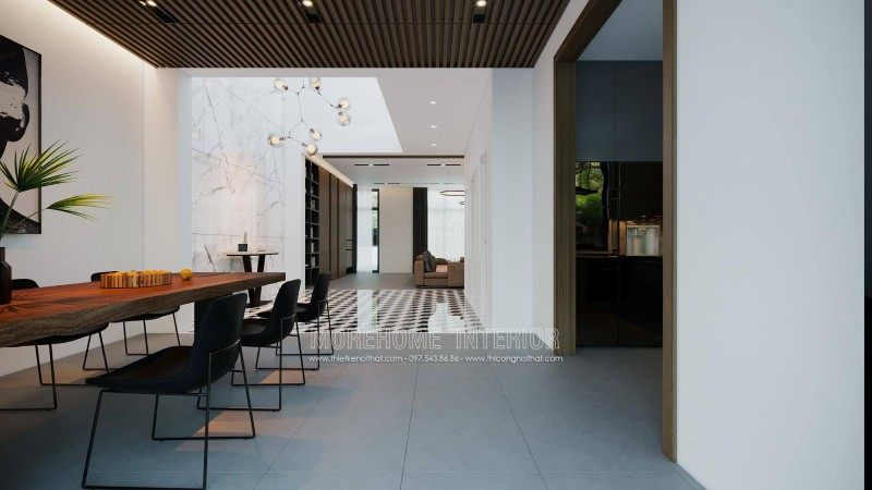 Thiết kế nội thất nhà vườn