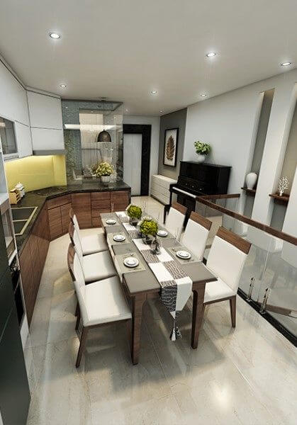 Thiết kế nội thất nhà phố thái hà đẹp - Chị Vân