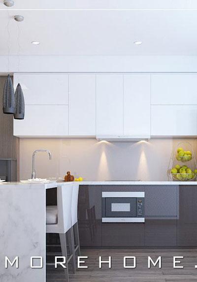 Thiết kế nội thất phòng bếp đẹp- Lựa chọn hoàn hảo cho ngôi nhà bạn
