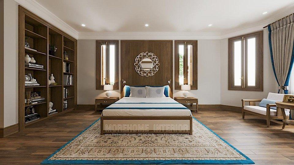 Thiết kế nội thất phòng ngủ biệt thự splendora bắc an khánh hoài đức hà nội