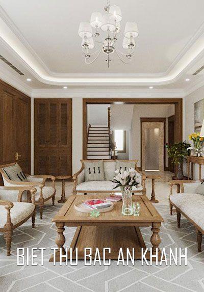 Thiết kế nội thất biệt thự cao cấp, đẹp tại Splendora Bắc An Khánh