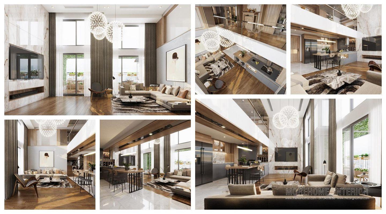 Thiết kế nội thất biệt thự Aquabay Central Lake