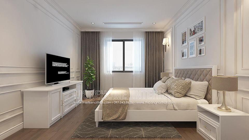 Thiết kế nội thất biệt thự Ecopark tân cổ điển