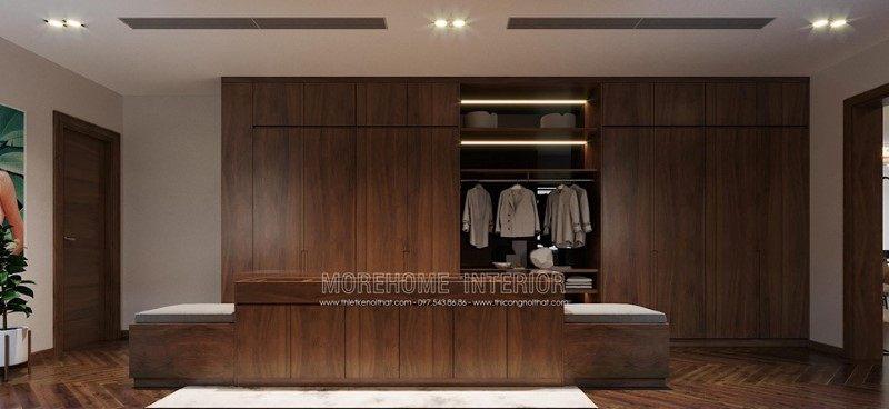 Tủ áo gỗ biệt thự hải dương
