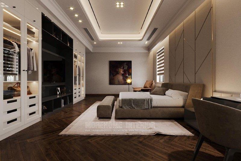 Thiết kế nội thất biệt thự Hải Dương