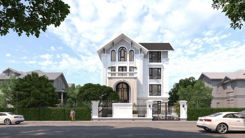 Thiết kế kiến trúc biệt thự hải phòng