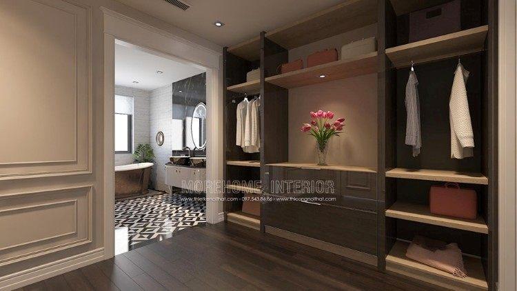 Thiết kế nội thất phòng ngủ Master biệt thự Imperia Garden
