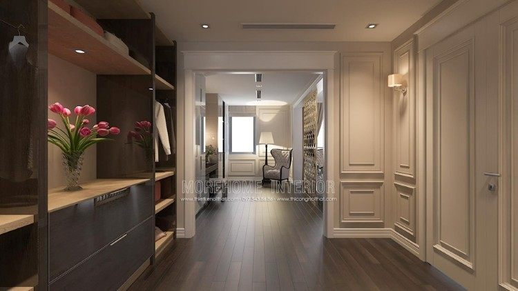 Thiết kế nội thất phòng ngủ biệt thự Imperia Garden