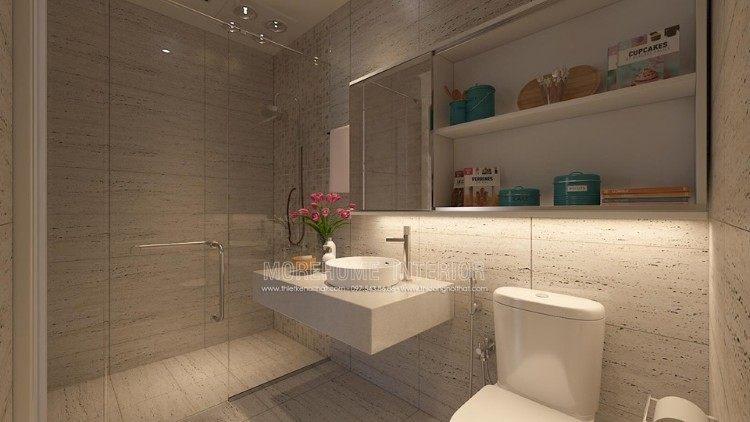 Thiết kế nội thất phòng tắm, nhà vệ sinh biệt thự Imperia Garden