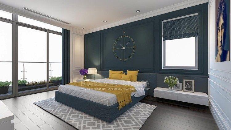 Thiết kế nội thất phòng ngủ con biệt thự Imperia Garden