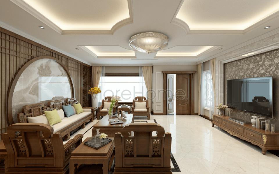 Thiết kế nội thất biệt thự Riverside Nguyễn Duy Trinh