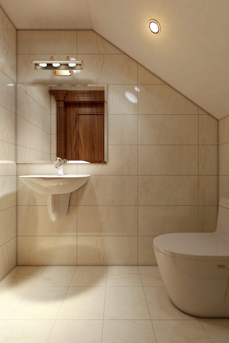 Thiết kế nội thất phòng tắm biệt thự Lake View Q2