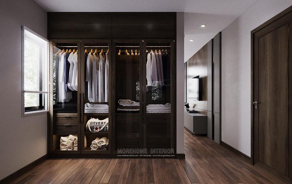 Tủ áo đẹp cho biệt thự louis city đại mỗ nam từ liêm hà nội