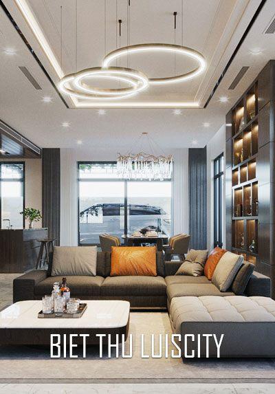 Thiết kế nội thất biệt thự Louis city phong cách hiện đại sang trọng