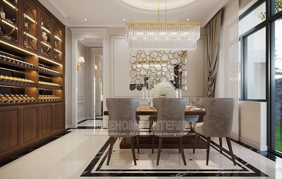 Thiết kế nội thất biệt thự phố tại Hà Tĩnh