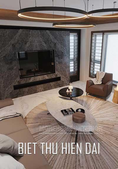 Thiết kế nội thất nhà phố hiện đại đẹp, sang trọng tại Hà Tĩnh