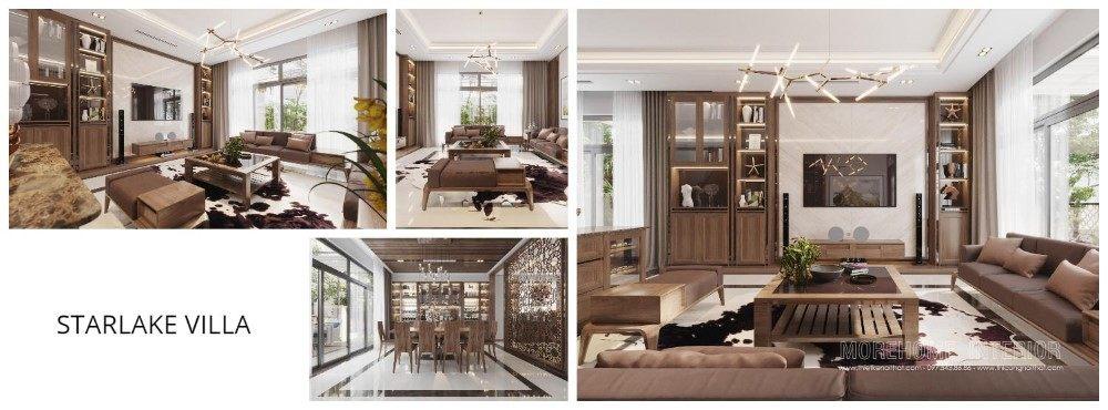 Thiết kế nội thất biệt thự Starlake