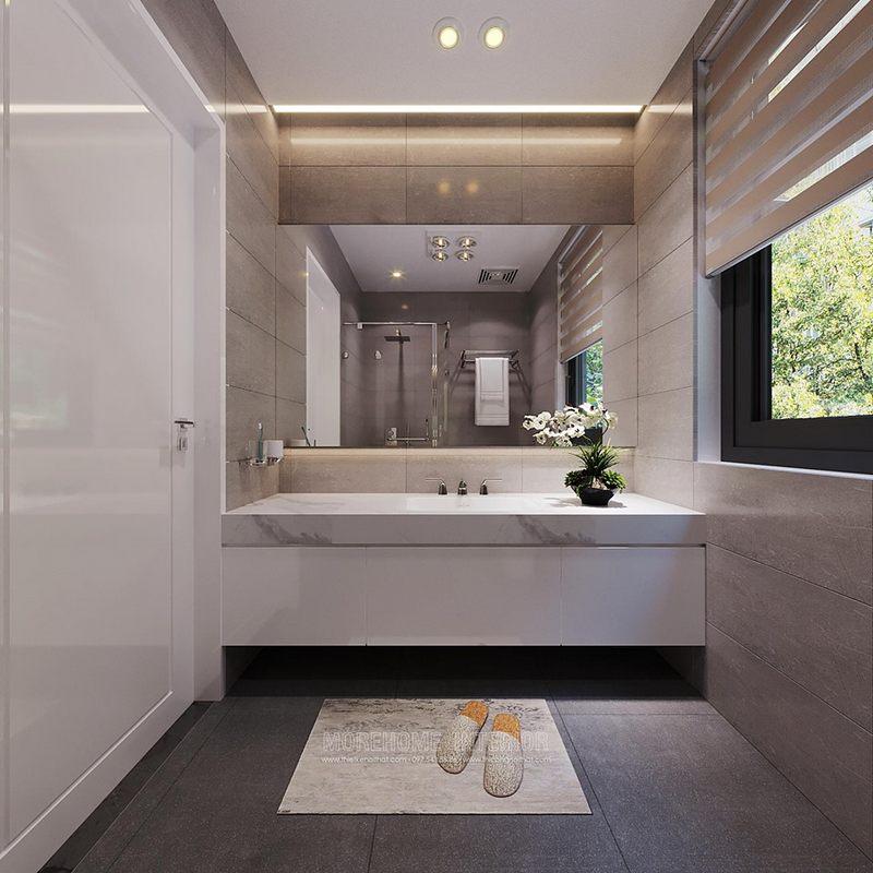 Thiết kế nhà tắm phòng vệ sinh biệt thự starlake tây hồ tây hà nội